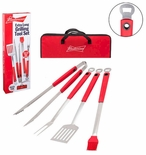 Budweiser Extra Long Grilling Tool Set