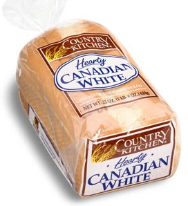 Country Kitchen Hearty Canadian White Bread 22 Oz