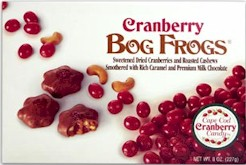 Cranberry Bog Frogs Box 8 oz.