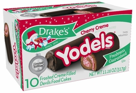 * Drake's Limited Edition Cherry Creme Yodels (2 Boxes)
