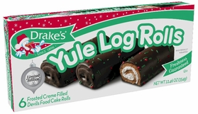 * Drake's Limited Edition Yule Log Rolls (2 Boxes)