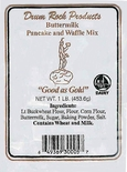 * Drum Rock Products Buttermilk Pancake & Waffle Mix 1 lb.