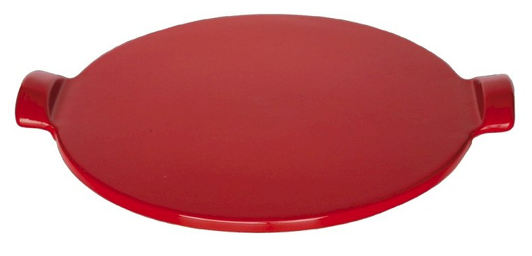 Henry Flame Top Pizza Stone Red 12 Inch