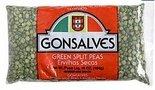 Gonsalves Green Split Peas 16 oz.