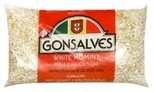 Gonsalves White Hominy 32 oz.
