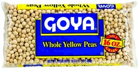Goya Whole Yellow Peas 16 oz.