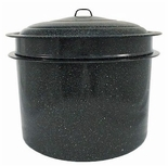 * Granite Ware 3-Piece 33-Quart Crab and Crawfish Cooker with Steamer and Drainer Insert (6323-1)