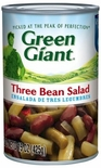Green Giant Three Bean Salad 15 oz. Can