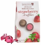 Harvest Sweets Milk Chocolate Strawberry Truffles 2.6 oz.
