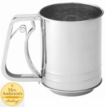 * Mrs. Anderson's 3-Cup Sifter Squeeze, Stainless
