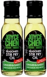 Joyce Chen Savory Ginger & Garlic Seasoned Stir Fry Oil 8 oz. (2 Bottles)