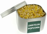 Lemon Yellow Heirloom Popcorn in Tin 8 oz. (Organic Non GMO Gluten Free)