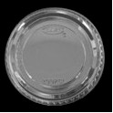 Lids for 2 oz. Portion Cups Plastic, Clear 5/100 ct. (500 Total)
