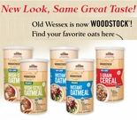 Old Wessex is NOW Woodstock Cereals