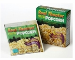 Real Theater Less Salt, Less Oil All Inclusive Popcorn Kit - 5 Pack