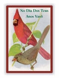SAVE NOW!!!...Birthday Portuguese Greeting Cards