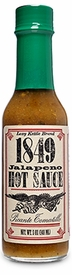 1849 All-Natural Jalapeño Hot Sauce