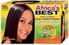 Africa's Best No-Lye Relaxer Kit Super 12 PCS CH111801