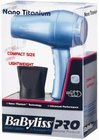 BaByliss Nano Titanum Compact Hair Dryer BABNT053