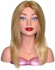Hairart Eiite Mannequin Head Courtney Blonde 4309B