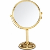 Danielle 10X Magnification Gold Plated Vanity Mirror D240A