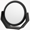 Danielle 10X Magnification Midnight Matte Soft Touch Round Vanity Mirror D169