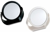 Danielle 12X Magnification Black And Pearl Ultra Vue Vanity Mirror D149
