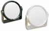 Danielle 6X Magnification Black And Pearl Ultra Vue Vanity Mirror D178