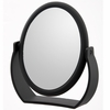 Danielle 7X Magnification Midnight Matte Soft Touch Oval Vanity Mirror D166