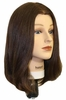 Hairart Elite Mannequins Emma Dark Brown 4822DB