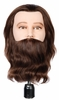 "Hairart Joe 10"" Deluxe With Beard Classic Mannequin Head 4015"