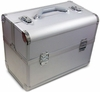 Hairart Silver Beauty Case With Trays 79157