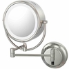 Kimball & Young 5X To 1X Brushed Nickel NeoModern LED Lighted Mirror 92575HW