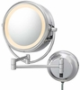 Kimball & Young 5X To 1X Italian Bronze NeoModern LED Lighted Mirror 92515