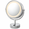 Kimball & Young 5X To 1X Polished NeoModern LED Lighted Mirror 72585