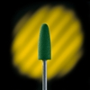 "Medicool Coarse Silicone Buffing Bit 3/32"" Green D1"