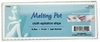 "Melting Pot 6.5"" X 2.5"" Non Woven Cloth Epilation 100 Strips FS6400"