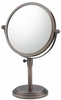 Mirror Image 5X To 1X Italian Bronzed Classic Adjustable Vanity Mirror 81715