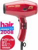 Parlux Hair Dryer 3500 Super Compact Red 163RED