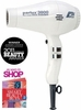 Parlux Hair Dryer 3800 Ionic and Ceramic White 165WHT