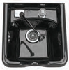 Pibbs Shampoo Bowl With Single Faucet Black 5350