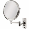Zadro 5X/1X Dual Sided Satin Nickel Wall Mirror OVW45