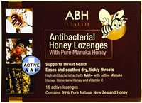 AIRBORNE ABH Manuka Honey Lozenges