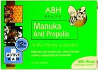 AIRBORNE ABH Manuka Honey & Propolis Lozenges