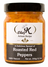 Chef K Roasted Red Pepper Spread