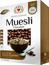 Chocolate Whole Grain Muesli - Case of 6