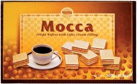 Evropa Mocca Wafers - Sold by Case of 12 Boxes