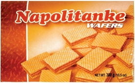 Evropa Napolitanke Wafers - Sold by Case of 12 Boxes