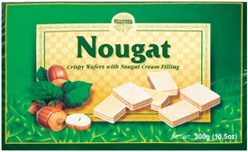Evropa Nougat Wafers - Sold by Case of 12 Boxes