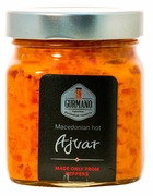 <font color=red><b>NEW!!!</font></b> GURMANO Ajvar HOT 300g (10.6oz)